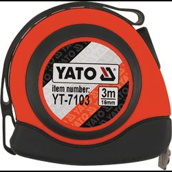 MIARA ZWIJANA 3m x 16mm NYLON, MAGNES YATO