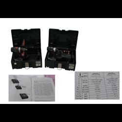 WKRĘTARKA AKUM. BS 18 LTX IMPULS METALOC 3X5,2