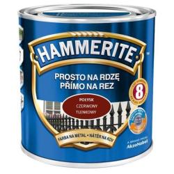 HAMMERITE POŁYSK 2,5L CZER