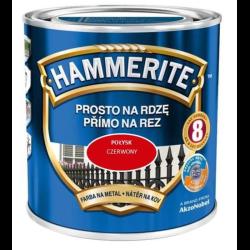 HAMMERITE POŁYSK CZERWONY 0,7L FARBA