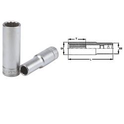 """nasadka 6-kątna 17mm z chwytem 3/8"""" 35860501 teng tools"""