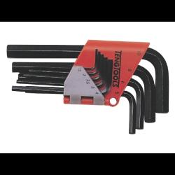 zestaw 9 kluczy trzpieniowych 6-kątnych 1,5-10mm 1479mmr teng tools