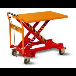 wrp1-0501 wózek podnośnikowy stołowy platforma 910x600 koło fi 125nek
