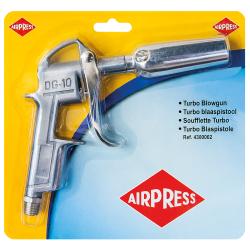 pistolet do przedmuchu z turbodyszą airpress