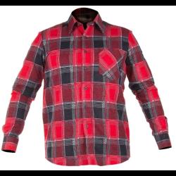 koszula flanelowa, czerwona rozmiar s lahtipro