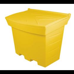 pojemnik 160l/230kg żółty dł.770gł.580.wys.760