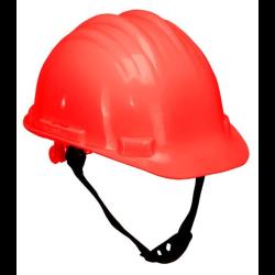 hełm przemysłowy ochronny lahtipro, czerwony