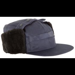 czapka zimowa uszanka granatowa lahtipro