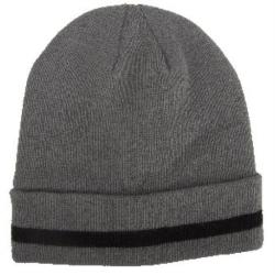 czapka akrylowa z polarem szara lahtipro