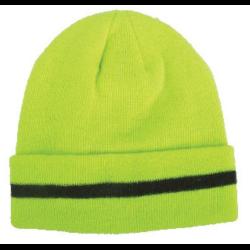 czapka akrylowa z polarem żółta lahtipro