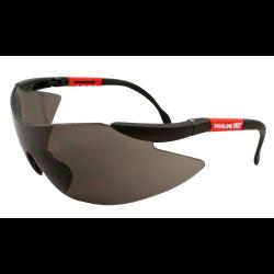 okulary ochronne szare przyciemniane z filtrem spf f1, lahtipro