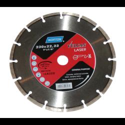 tarcza diamentowa vulcan laser 230x22,23 norton