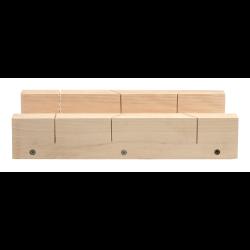 skrzynka uciosowa drewniana 450x105mm