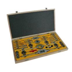 zestaw narzędzi do gwintowania m3-m20 hss czd-40 fanar