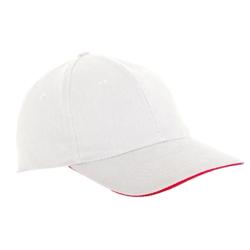 lahtipro czapka z daszkiem biała l1811300
