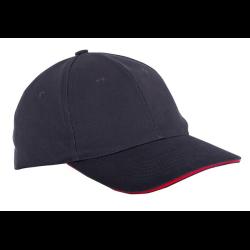 lahtipro czapka z daszkiem czarna l1812300