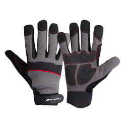 rękawice warsztatowe czarno-szare rozmiar l (9), lahtipro