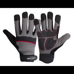 rękawice warsztatowe czarno-szare rozmiar xl (10), lahtipro.
