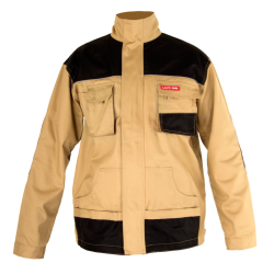 bluza robocza , męska, beżowa 100% bawełna, m (50) , lahtipro