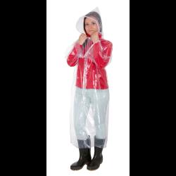 płaszcz przeciwdeszczowy z kapturem uniwersalny przeźroczysty lahtipro