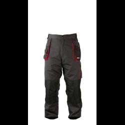 """lahtipro spodnie robocze rozmiar """"xl"""" (56) szaro-czarne 267g/m2 lpsr0156"""