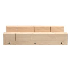 skrzynka uciosowa drewniana 300x80mm