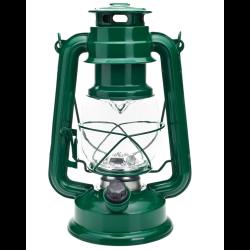 latarka kempingowa retro 2xd kolor zielony