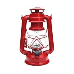 latarka kempingowa retro 2xd kolor czerwony