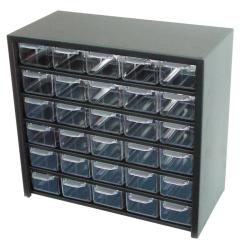 szafka metal. z 30 szufladami plastyk. 305x280x150mm