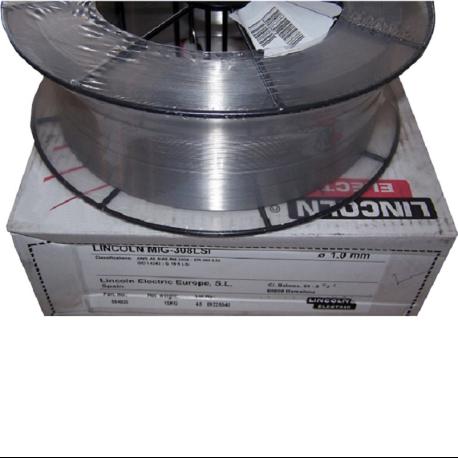 DRUT DO SPAW. LINCOLN MIG 308 LSi FI 1.0, 15KG KWAS