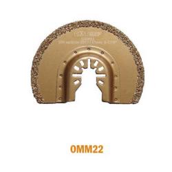 cmt brzeszczot oscylacyjny 87x2,2mm uchwyt uniwersalny omm22-x1