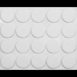podkładki filcowe fi 20mm białe