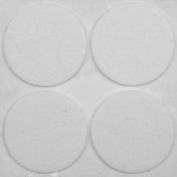 podkładki filcowe fi 40mm białe