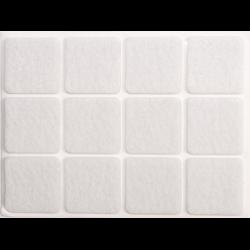 podkładki filcowe 28x28 białe
