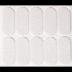 podkładki filcowe 20x45 białe