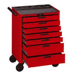 wózek narzędziowy (pusty) tcw807n - 7 szuflad teng tools