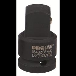 """adapter udarowy cr-mo 3/4"""" gniazdo 1"""" trzpień proline"""