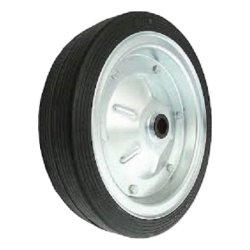 d-350 koło metal-guma pełne łożysko kulkowe d=25mm