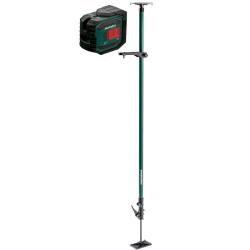 kll 2-20 set laser liniowy karton + wysięgnik teleskopowy