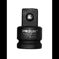 """adapter udarowy cr-mo 1/2"""" gniazdo 3/8"""" trzpień proline"""