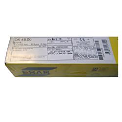 elektrody ok-48.00 fi 4.0x450 ; 6kg