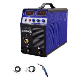 MIG 200E SPARTUS Easy pakiet przewód masowy 3m, wężyk gazowy 1,5m z opaskami, uchwyt SPARTUS Easy 150 3m