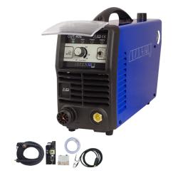 SPARTUS Przecinarka plazmowa CUT40E pakiet: uchwyt SP45H 6m, przewód masy 3m, wbud filtr powietrza, wężyk 3m)