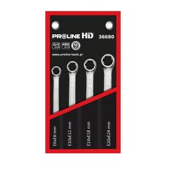 proline hd komplet 4 kluczy oczkowych torx e6-e24 36680