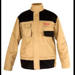bluza robocza , męska, beżowa 100% bawełna, 3xl (60) , lahtipro