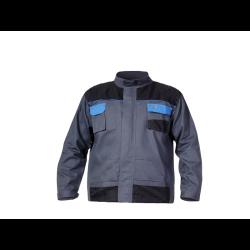 bluza szaro-niebieska m (50) 100% bawełna , lahtipro
