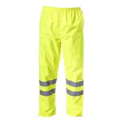 """spodnie ostrzegawcze przeciwdeszczowe """"xxl"""" żółte lahtipro"""