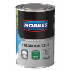 nobiles chlorokau zieleń mięta 1l farba, ral6029