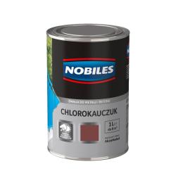 nobiles chlorokau czerwony tlenkowy 1l farba