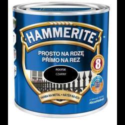 hammerite połysk 0,7l czarny farba